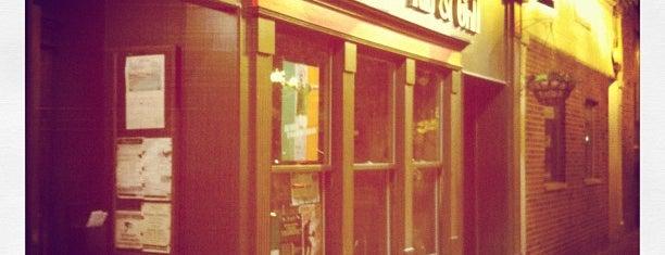 The Grafton Irish Pub & Grill is one of Chicago Magazine's 100 Best bars 2013.