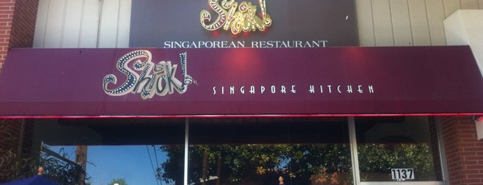 Shiok is one of Menlo Park.