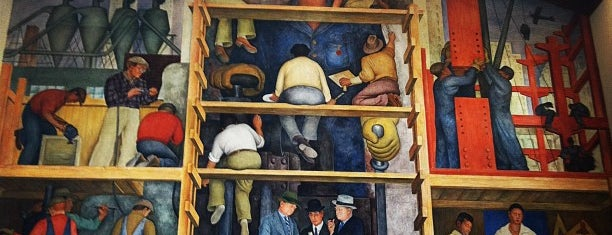 Diego Rivera Mural is one of San Francisco Bay.