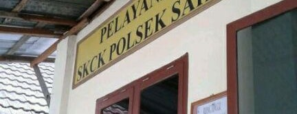 Polsek Sako is one of Security Check Point.