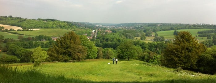 West Wycombe Hill is one of Tempat yang Disukai Carl.