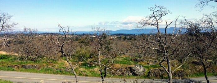 Mount Tolmie is one of Victoria, BC.