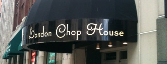 London Chop House is one of Restaurants to try.