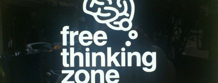 Free Thinking Zone is one of places...