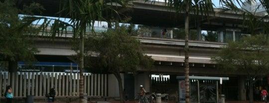 MDT Metrorail - University Station is one of sole.