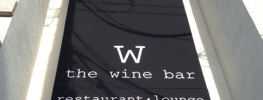 The Wine Bar is one of NJ // Eat, Drink, Visit.