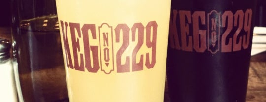 Keg No. 229 is one of NYC.