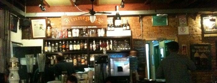 Finnegan's Pub is one of Pubs de São Paulo.