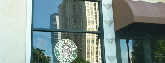 Starbucks is one of Faves.