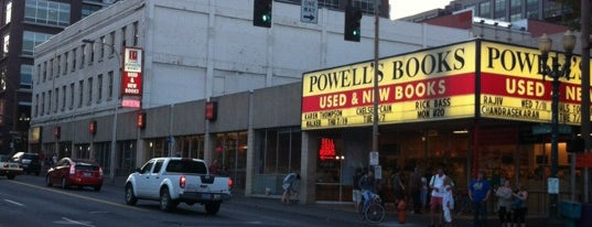 Powell's City of Books is one of Freaker USA Stores Pacific Coast.