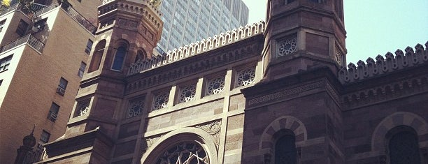 Central Synagogue is one of MoMA: Landmarks of Modern Architecture.