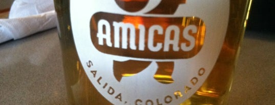 Amica's Wood Fired Pizza & Microbrews is one of Colorado Breweries.