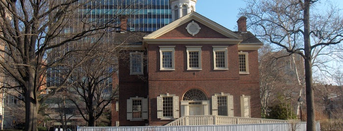 Carpenters' Hall is one of Revolutionary War Trip.