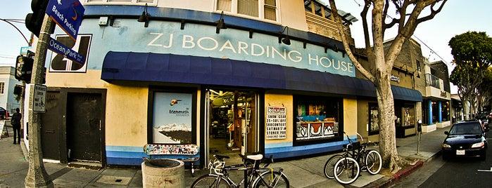 ZJ Boarding House is one of LA Top Shops.