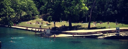 Barton Springs Pool is one of Austin, National Preservation Conference 2010.