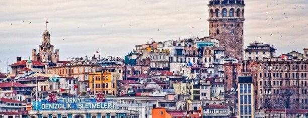 Menara Galata is one of Türkiye'de Gezilmesi- Görülmesi Gereken Yerler.