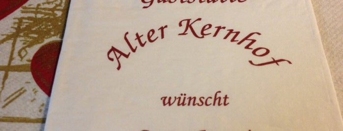 Alter Kernhof is one of Munich And More Too.