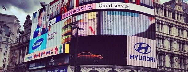 Piccadilly Circus is one of England (insert something witty here).