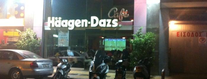 Häagen-Dazs Café is one of places...