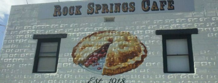 Rock Springs Cafe is one of America's Best Pie.