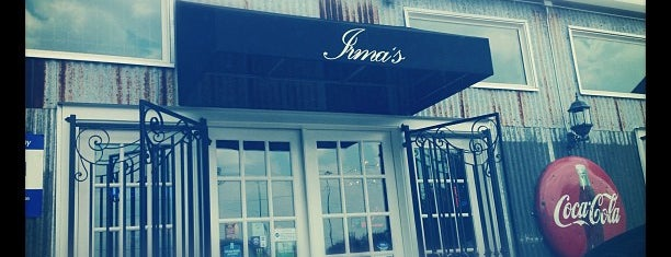Irma's is one of HOU Scene.