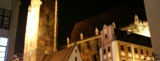 Kościół Garnizonowy pw. św. Elżbiety is one of Wroclaw to see/eat/drink (Poland).