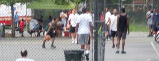 Marine Park is one of Where to play ball — Public Courts.