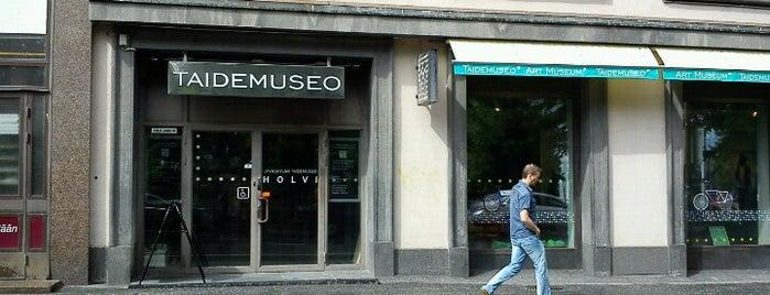 Taidemuseo Holvi is one of Достопримечательности Финляндии.