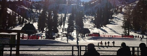 Alpine Meadows Ski Resort is one of favs.