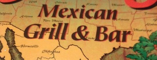 Cancun Mexican Grill & Bar is one of Locais curtidos por Erin.