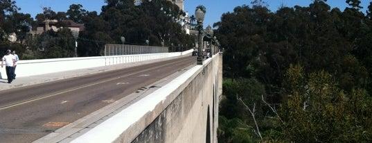 Cabrillo Bridge is one of San Diego's 59-Mile Scenic Drive.