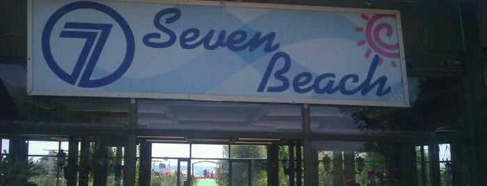 Seven Beach is one of Gülsüm Çiğdemさんのお気に入りスポット.