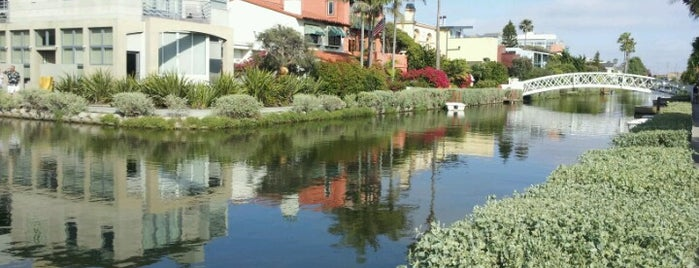 Venice Canals is one of LA baby.