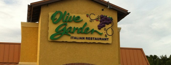 Olive Garden is one of ron 님이 좋아한 장소.