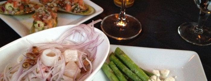 Limo (Lee-Mo) Peruvian Restaurant is one of Locais salvos de Kristi.