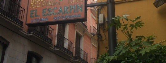 Sidrería El Escarpín is one of Guide to Madrid's best spots.