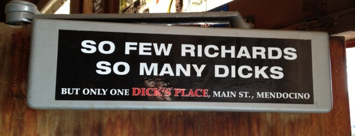 Dick's Place is one of Tempat yang Disukai Stephraaa.