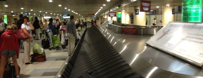 Baggage Claim Area is one of Airports.
