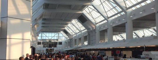 Terminal C is one of Airports.