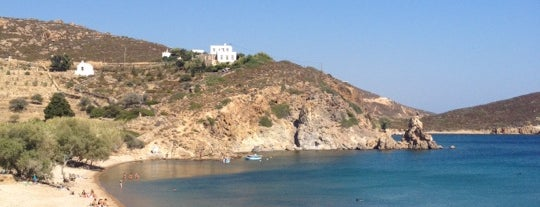 Vagia is one of Patmos.