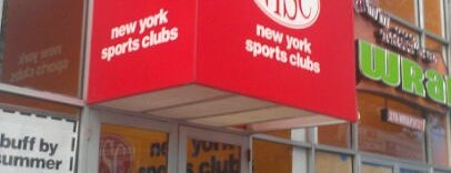 New York Sports Clubs is one of Jason : понравившиеся места.