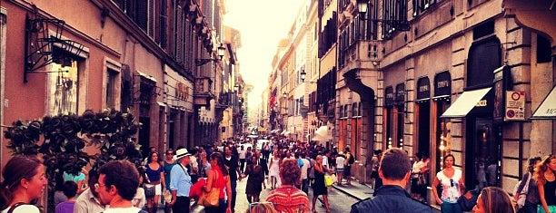 Via del Corso is one of Roma.
