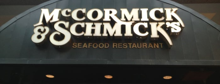 McCormick & Schmick's Seafood & Steak is one of Washington D.C..