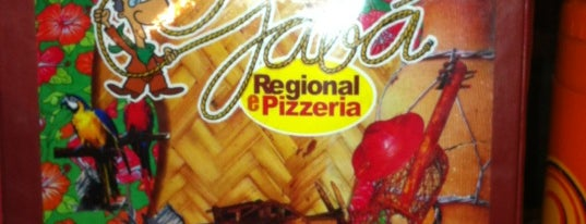 O Jabá Regional e Pizzaria is one of Natural da Terra 님이 저장한 장소.