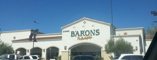 Barons Market is one of Locais curtidos por Neha.