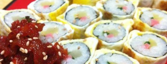 봉천동 진순자김밥 is one of Korean food.