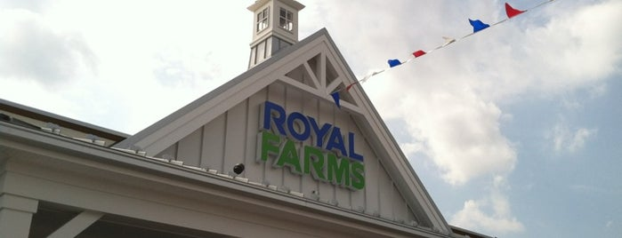 Royal Farms is one of Common places.