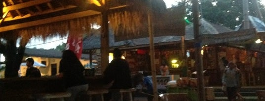 Sama Sama Reggae Bar is one of Gili + Lombok.