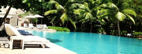 Four Seasons Resort Seychelles is one of Let's Go To.