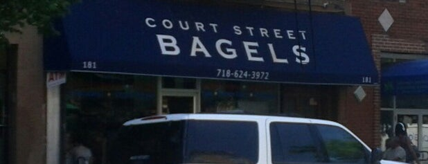 Court Street Bagels is one of NYC.